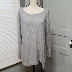 AGB Microfiber Knotted Top